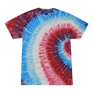 Tie Dye Short Sleeve - Firecracker