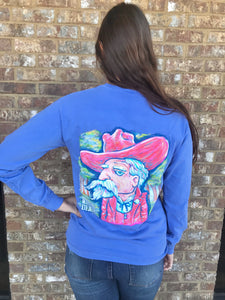 Rebel Long Sleeve- Blue