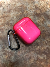 Neon Pink Clear AirPod Case