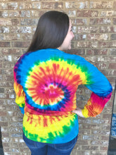 Tie Dye Long Sleeve- Reactive Rainbow