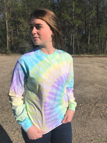 Tie Dye Long Sleeve- Mystique