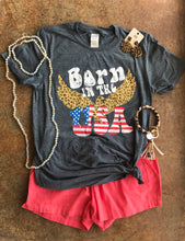 Born In The USA- Dark Heather