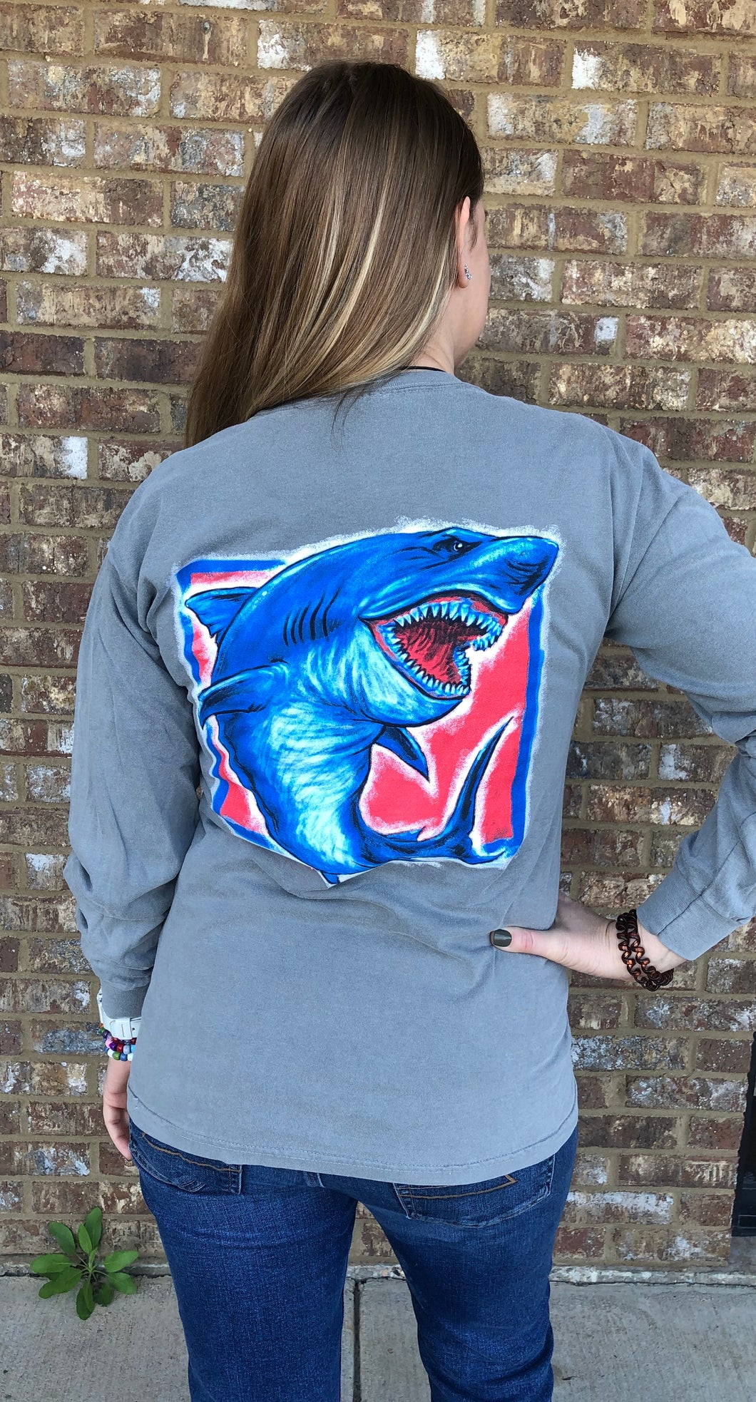 Landshark  Long Sleeve- Granite - PLUS