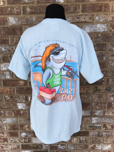 Lazy Day Shark- PLUS- Chambray