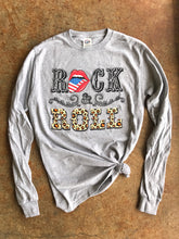 Rock & Roll- Long Sleeve- Athletic Gray