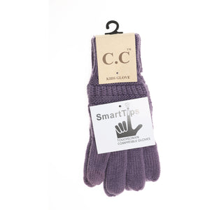Kid's C.C Gloves- Violet