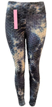 Tik Tok Leggings- Ink Tie Dye