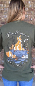 S'more Short Sleeve- Olive SIZE SMALL