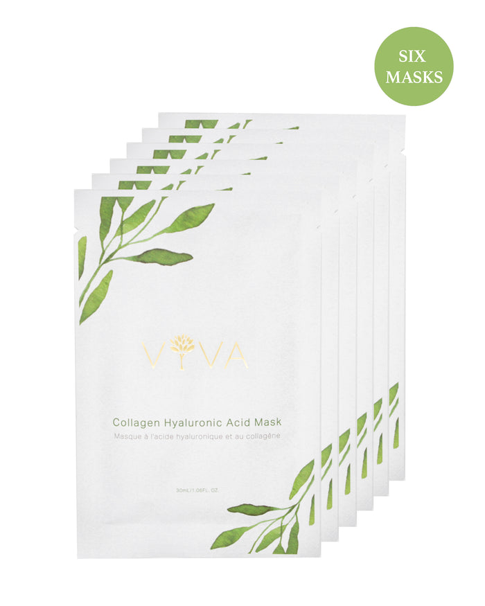 Collagen Hyaluronic Acid Mask Box