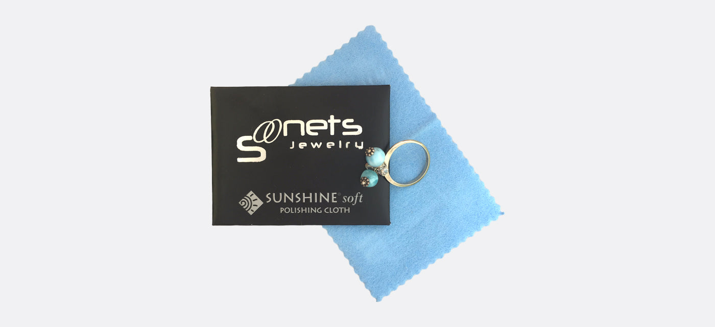 Branded silver cloth for jewelry care