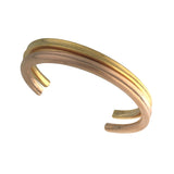 Waves plain bangle