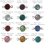 Birthstones colors Swarovski crystals