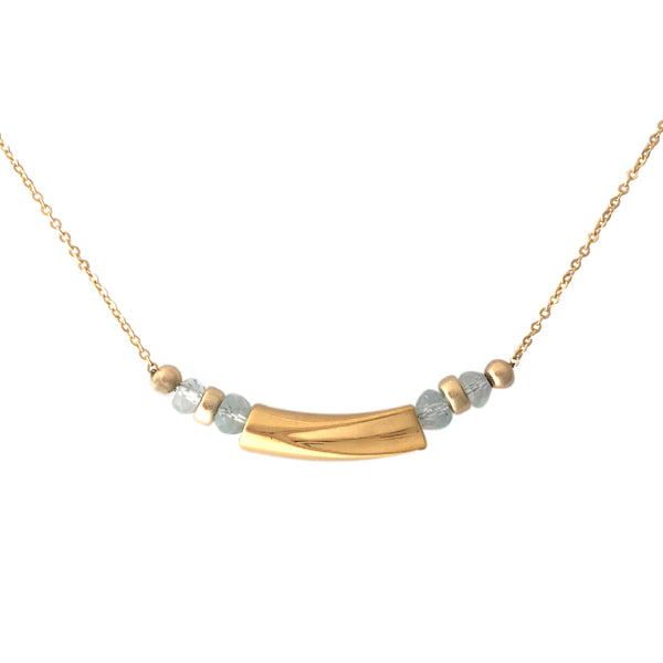 Waves Minimalist necklace - Horizontal