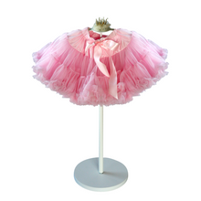 Candy Floss pink tutu. Soft chiffon full tutu skirt. Princess birthday. Flower girl. Bridal party.
