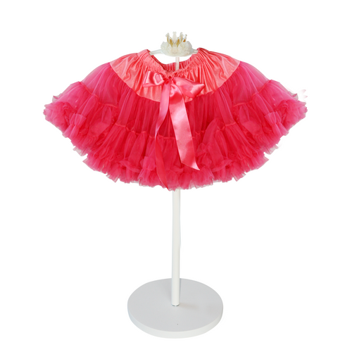 Our tutu skirts are made from the finest breathable nylon chiffon and finished with a lovely satin bow. Sizes range from infant to adult. We make the waistbands adjustable because we want every child to wear them for a longer time!