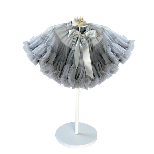 The most beautiful thing ever seen, that's the silver unicorn tutu. Gorgeously full and soft chiffon tutu in silvery misty grey.