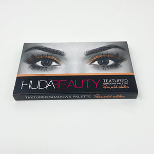 Hudabeauty Textured Shadow Palette Rosegold Edition