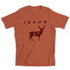 Idaho AF Men's Tee: Heather Autumn