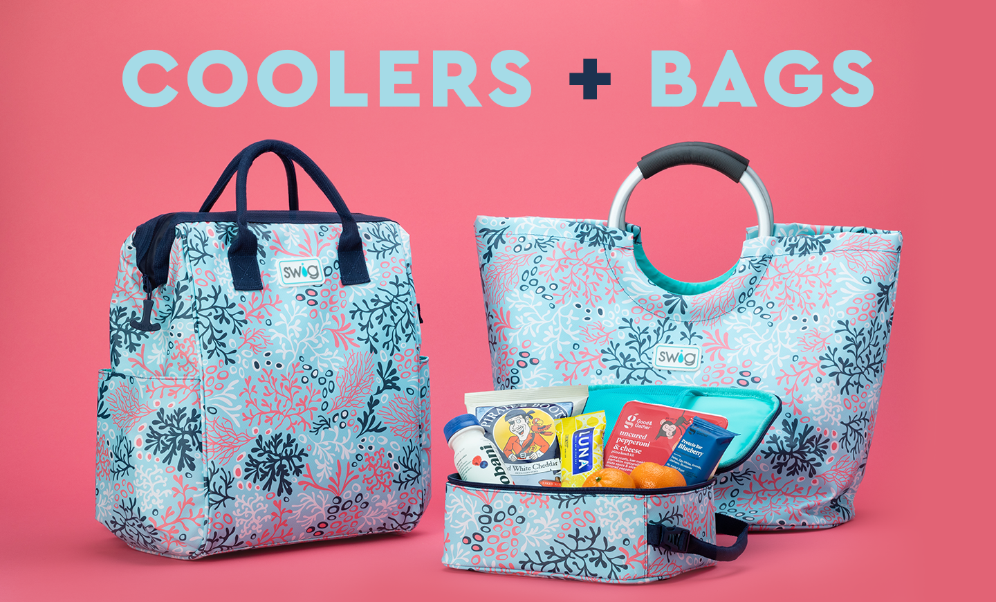 Coolers + Bags