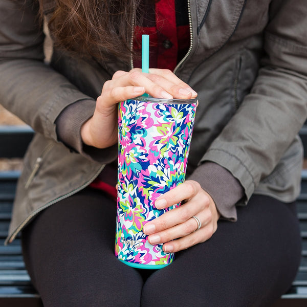 Island Bloom Tumbler (22oz)