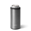 Shimmer Graphite Skinny Can Cooler (12oz)ETA: July 22 - Swig Life