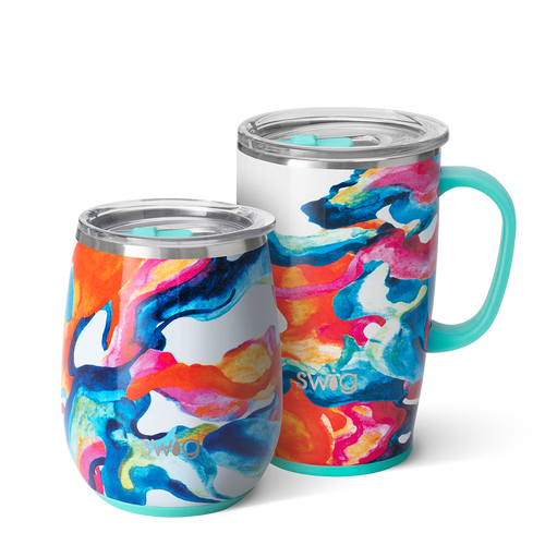 Color Swirl AM+PM Set