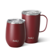 Matte Maroon AM+PM Set - Swig Life