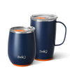 Matte Navy/Orange AM PM Set Image-Main - Swig Life