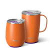 Matte Orange/Purple AM PM Set Image-Main - Swig Life