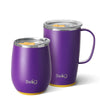 Matte Purple/Yellow AM PM Set Image-Main - Swig Life