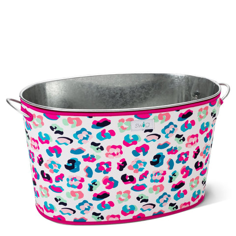 Swirled Peace Party Tub