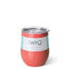 Coral Stemless Wine Cup (12oz) - Swig Life
