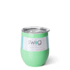 Mint Stemless Wine Cup (12oz) - Swig Life