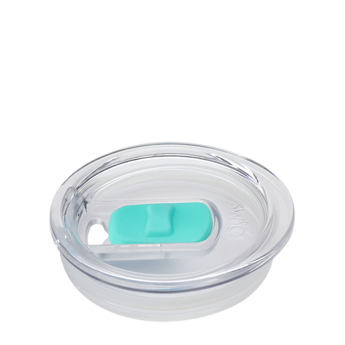 Slider Lid - Aqua (Large)