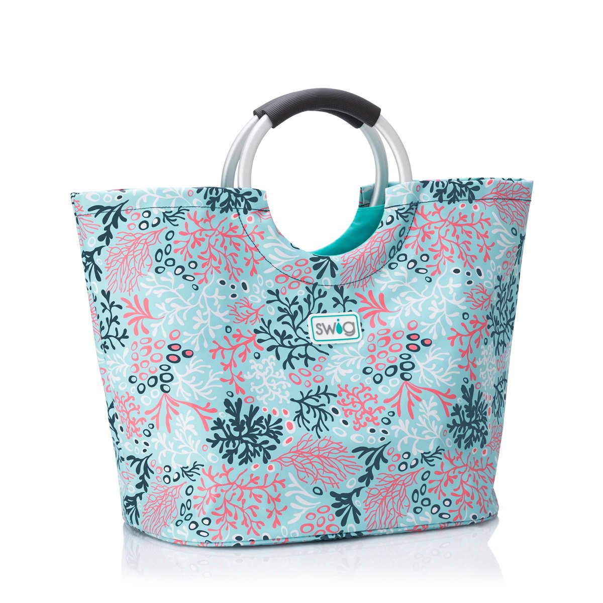 Coral Me Crazy Loopi Tote Bag