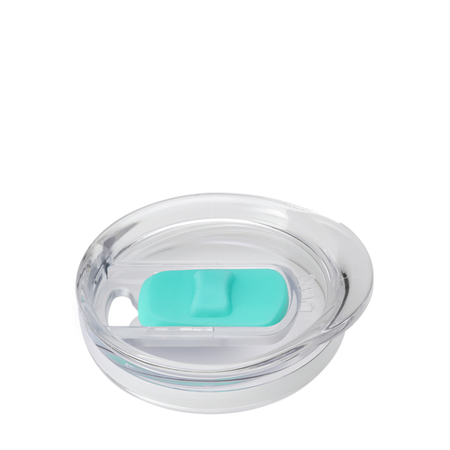 Slider Lid - Aqua (14oz Stemless)
