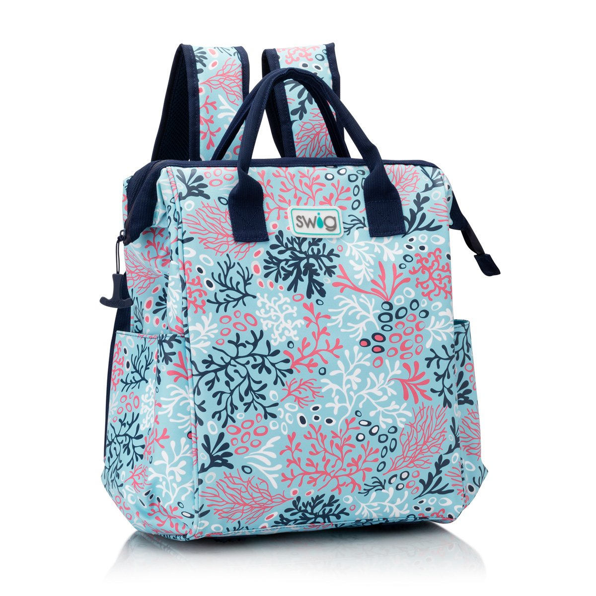 Coral Me Crazy Packi Backpack Cooler