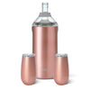 Shimmer Rose Gold Bubbly Set - Swig Life