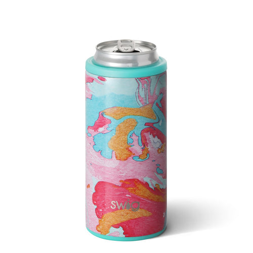 Cotton Candy 12oz Skinny Can Cooler