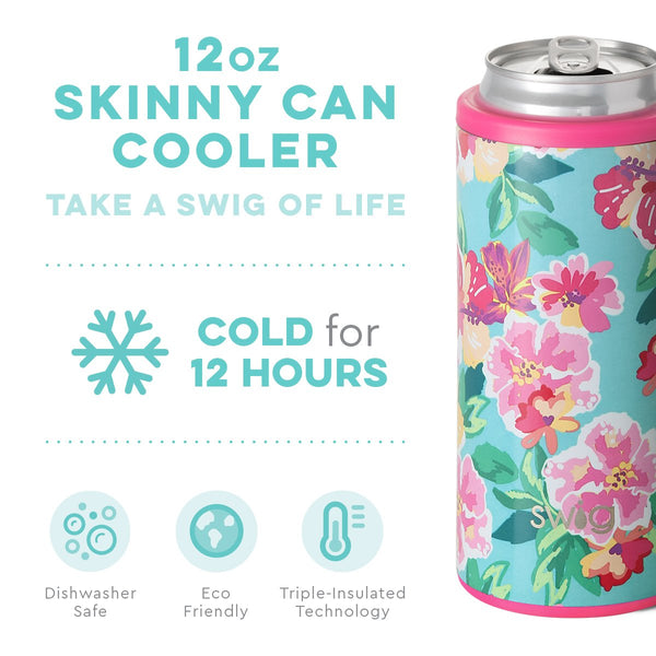 Island Bloom Skinny Can Cooler (12oz)
