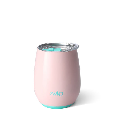 Rose Gold 12oz Stemless Wine Cup