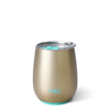 Shimmer Champagne Stemless Wine Cup (14oz) - Swig Life