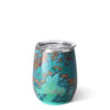 Copper Patina Stemless Wine Cup (14oz) - Swig Life