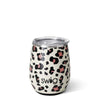 Luxy Leopard Stemless Wine Cup (14oz) - Swig Life