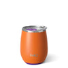 Matte Orange/Purple Stemless Wine Cup (14oz) - Swig Life