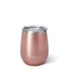 Rose Gold 14oz Stemless Wine Cup - Swig Life