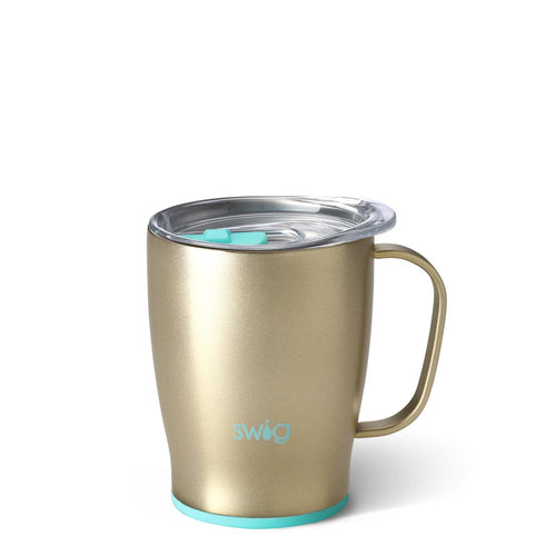 Shimmer Champagne Travel  Mug (18oz)