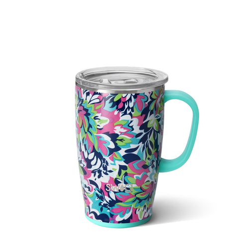 Luxy Leopard Travel Mug (18oz)