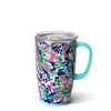 Frilly Lilly Travel Mug (18oz) - Swig Life