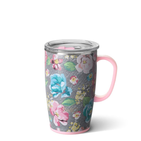Wild Flower Travel Mug (18oz)